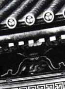 Орнаменты на мавзолее династии Токугава (Япония)