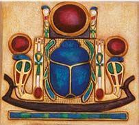 Три круга на украшениях из Древнего Египта