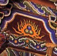 Орнаменты на Шаолиньском храме (Китай)