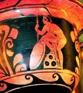Знак трех кругов на керамике из Древней Греции