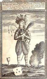 Символика шведского правителя Биргера Магнуссона (гравюра XVII века)