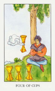 4 чаши таро значение рыцарь чаш карта таро