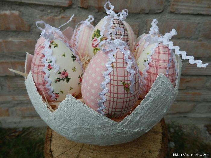 Яйцо из ткани своими руками